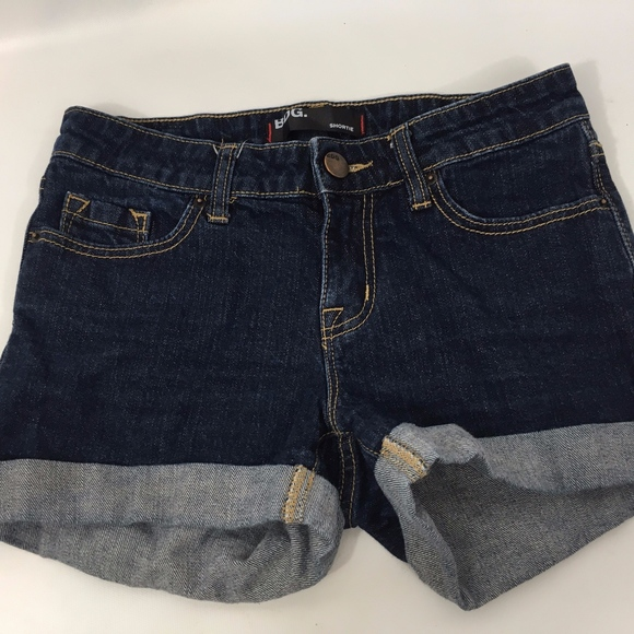 Urban Outfitters Pants - BDG Urban Outfitters Dark Wash Denim Cuffed Shorts